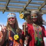 Woodstock Hippy Chicks