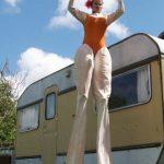 Circus Strong Woman